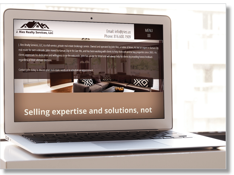 Real Estate Website Sample