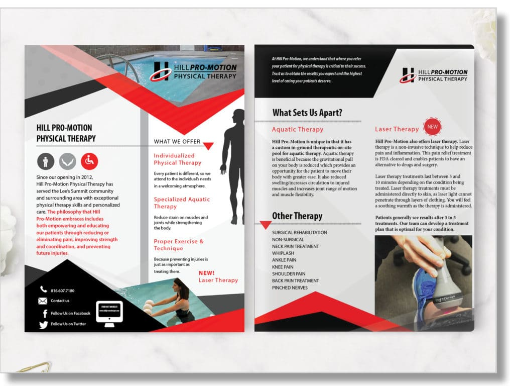 physical therapist flyer