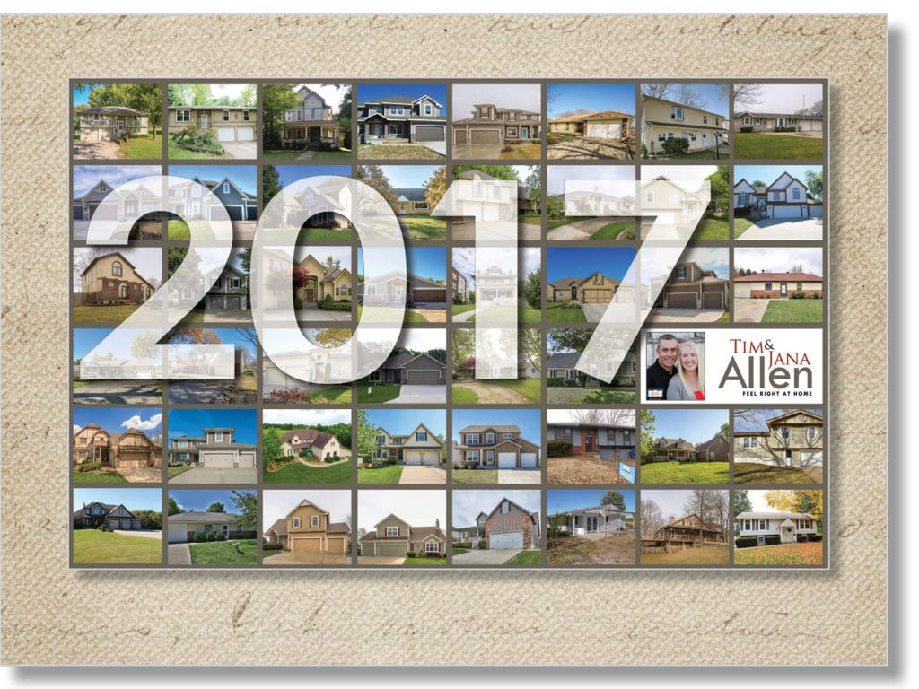 2017 real estate postcard