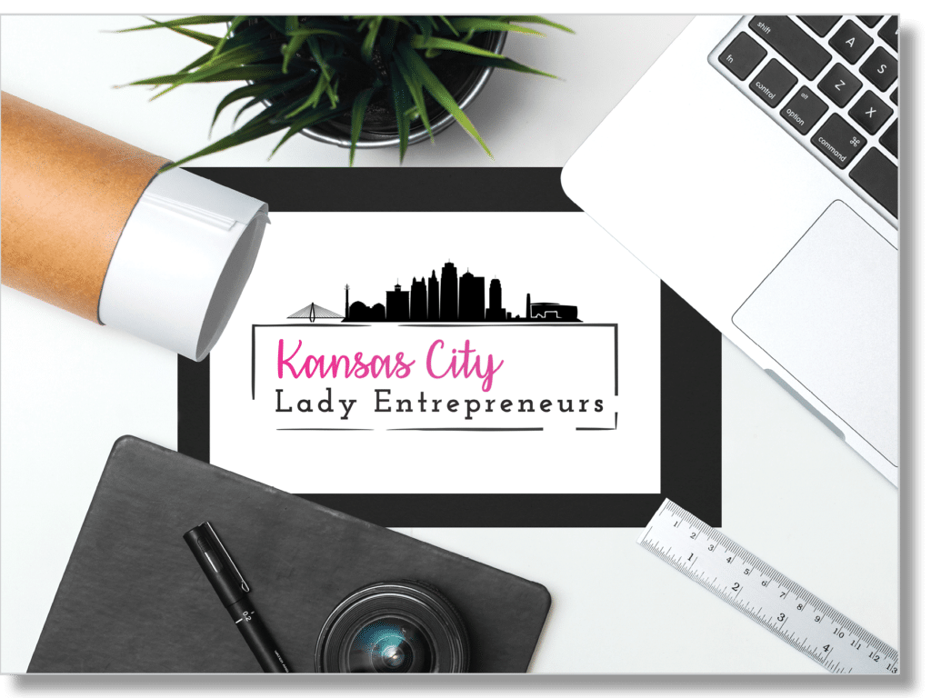 kansas city lady entrepreneur logo
