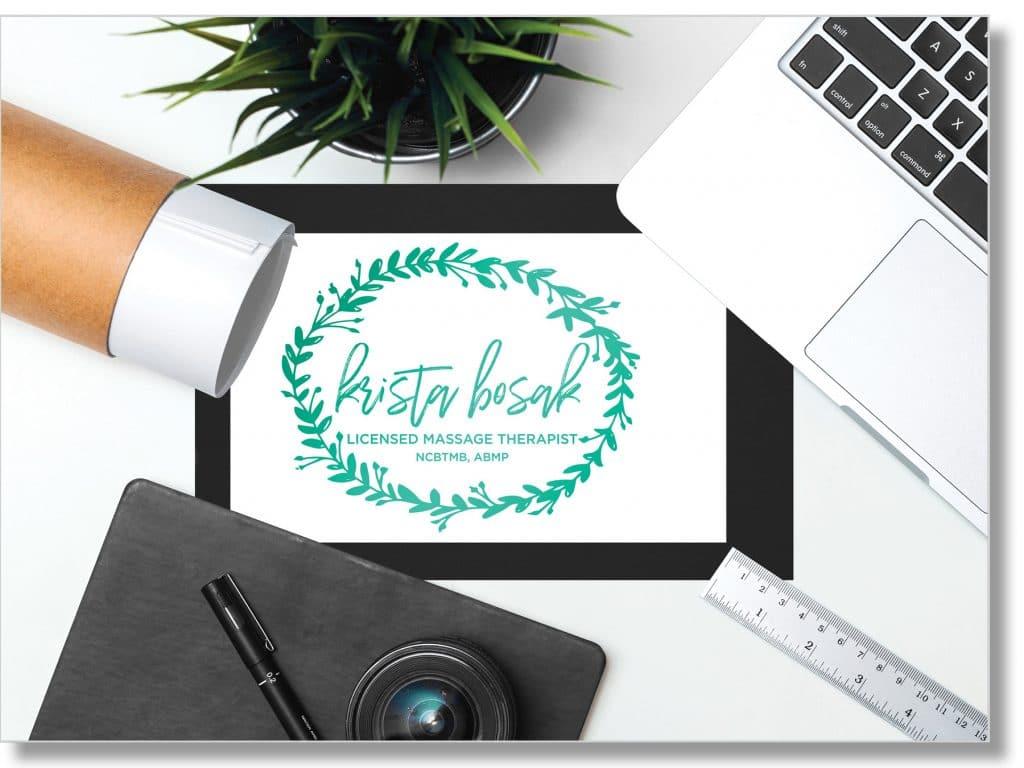 krista bosak logo design