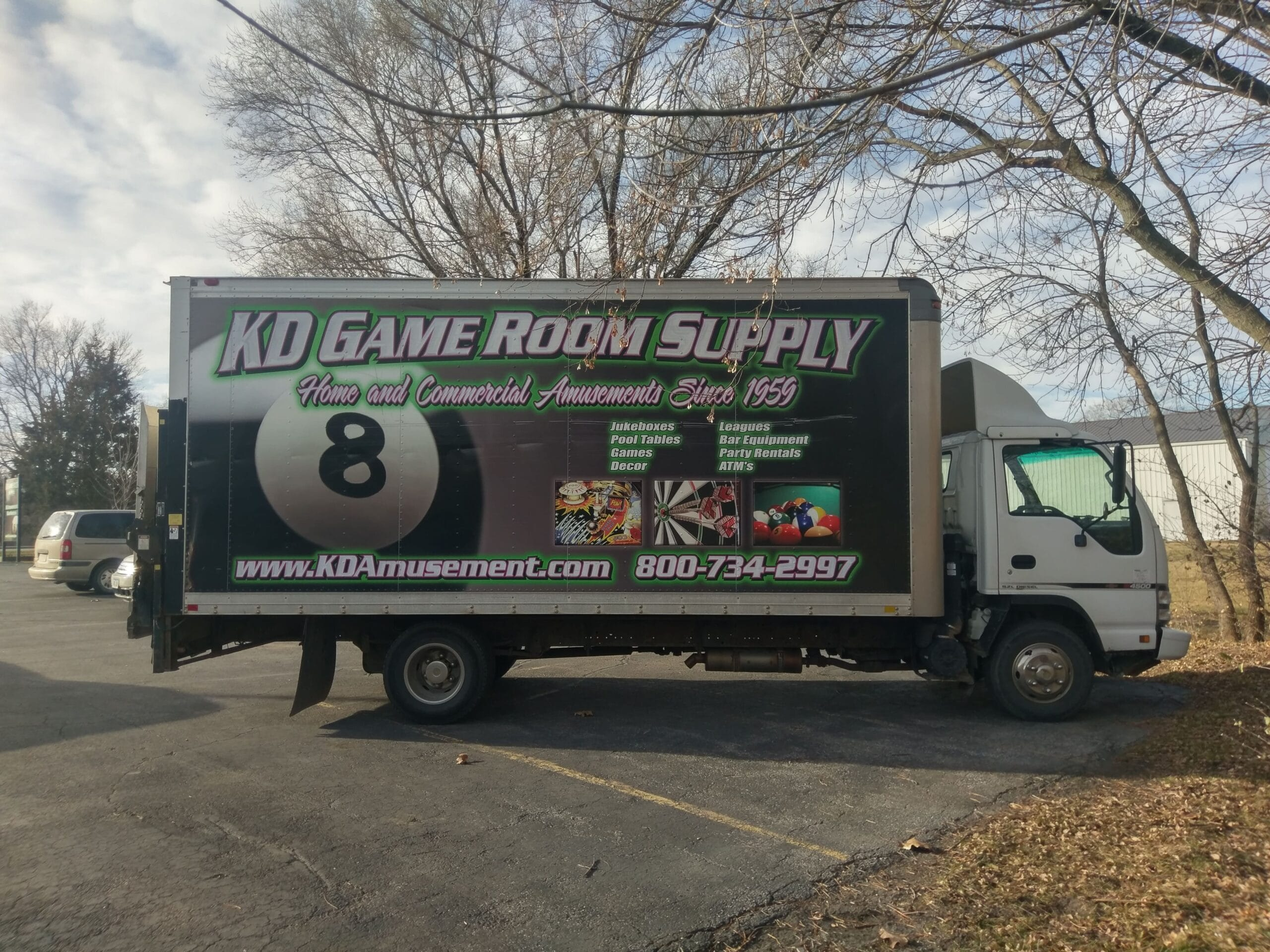 KD Game Supply Truck